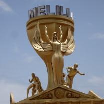 Victoria de Melilla, hoguera oficial