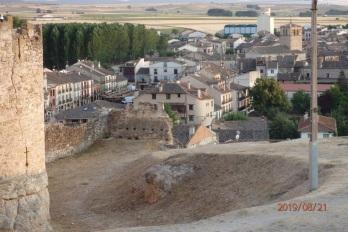 Turégano desde el castillo