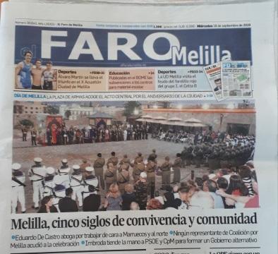 Información Día de Melilla