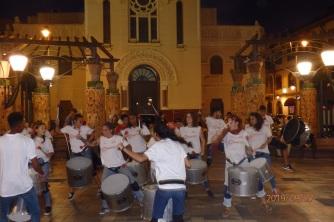 tambores de Cañada Viva
