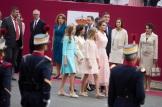 Reina Leticia, Princesa de Asturias y ciudadano Presidente Pedro Sánchez