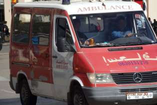 Ambulancia en servicio