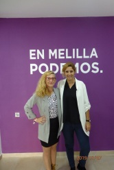 Mª Teresa Thomasoro y Gema Aguilar