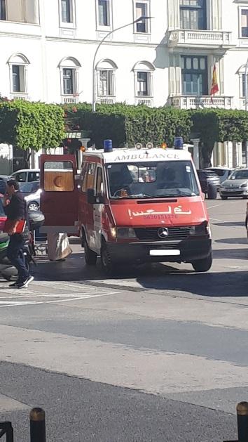 Ambulancia marroquí