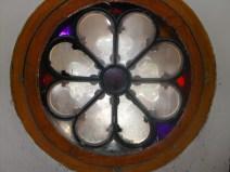 Roseta capilla Centro Asistencial
