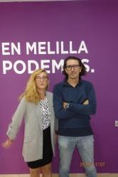 José Antonio Castillo y Mª Teresa Thomasoro