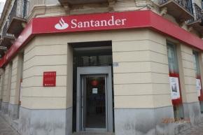 Primera sucursal del Santander