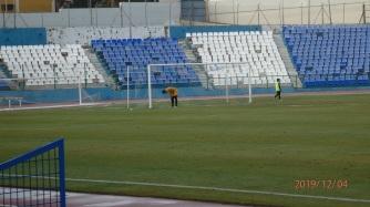 Alberto Domínguez tras el 1-0