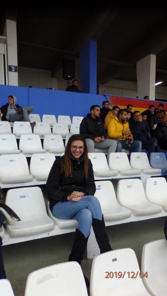 Sabirna Moh, socia UD Melilla