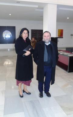 Jaime Azamcot y Simi Chocrón
