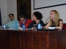 Mohamed el Morabet, Mustafa Akalay, Zoubida y Elena Fernández