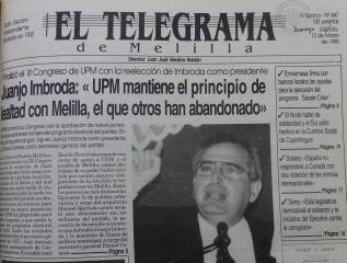 Imbroda refunda UPM