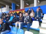 Consejero Rachid Bussian y Luisma Rincón, presidente del Melilla
