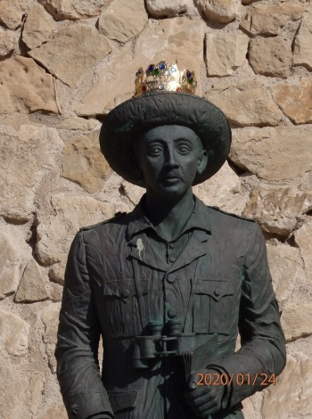 Retirada de la estatua de Franco