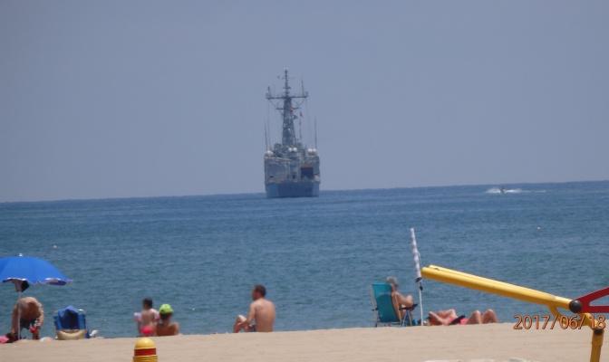 Día de playa en Melilla