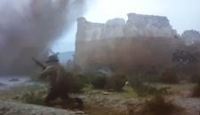 Escena bélica en la alcazaba