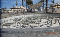 Fuente seca, plaza de San Lorenzo