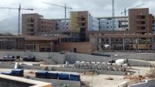 Hospital en construcción