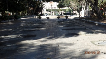 Paseo musical, parque Hernández