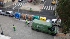 Trabajadores de la limpieza urbana