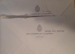 Cartas Carlos Seco Serrano