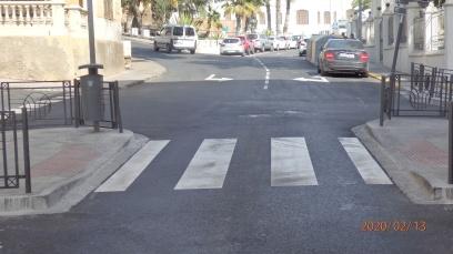 Giro imposibles, final calle Lerchundi