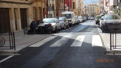 Pasos estrechos, calle Padre Lerchundi