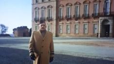 Patton en el Palacio de Riofrío