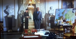 Patton, interior del palacio de San Ildefonso