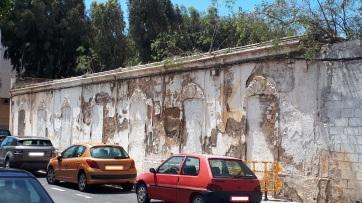 Fachada las caras (calle Cataluña)