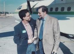 Julio Anguita en Melilla (1995)