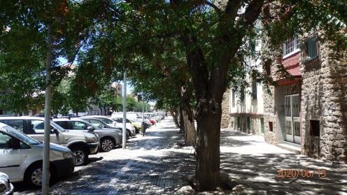 Calle del general Villalba