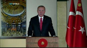 Rercep Erdogan se dirige a la nación turca