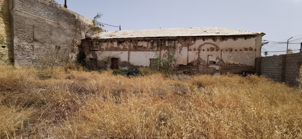 San Carlos, el primer cementerio de Melilla