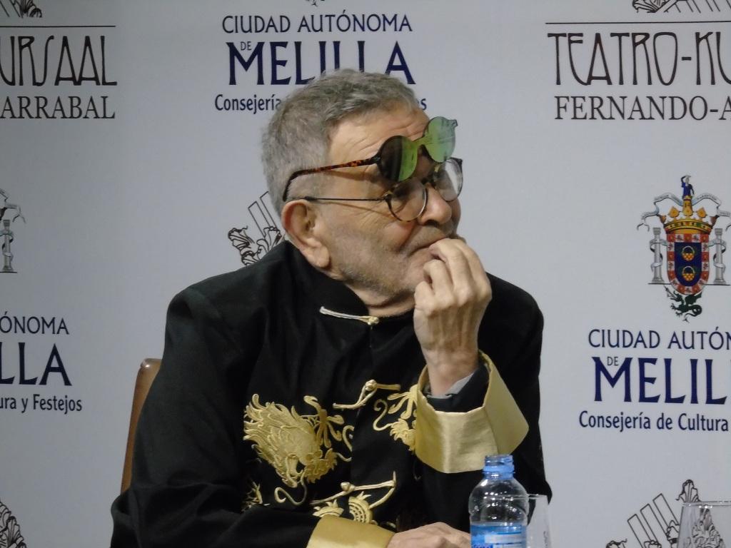 Fernando Arrabal, el melillense más ilustre